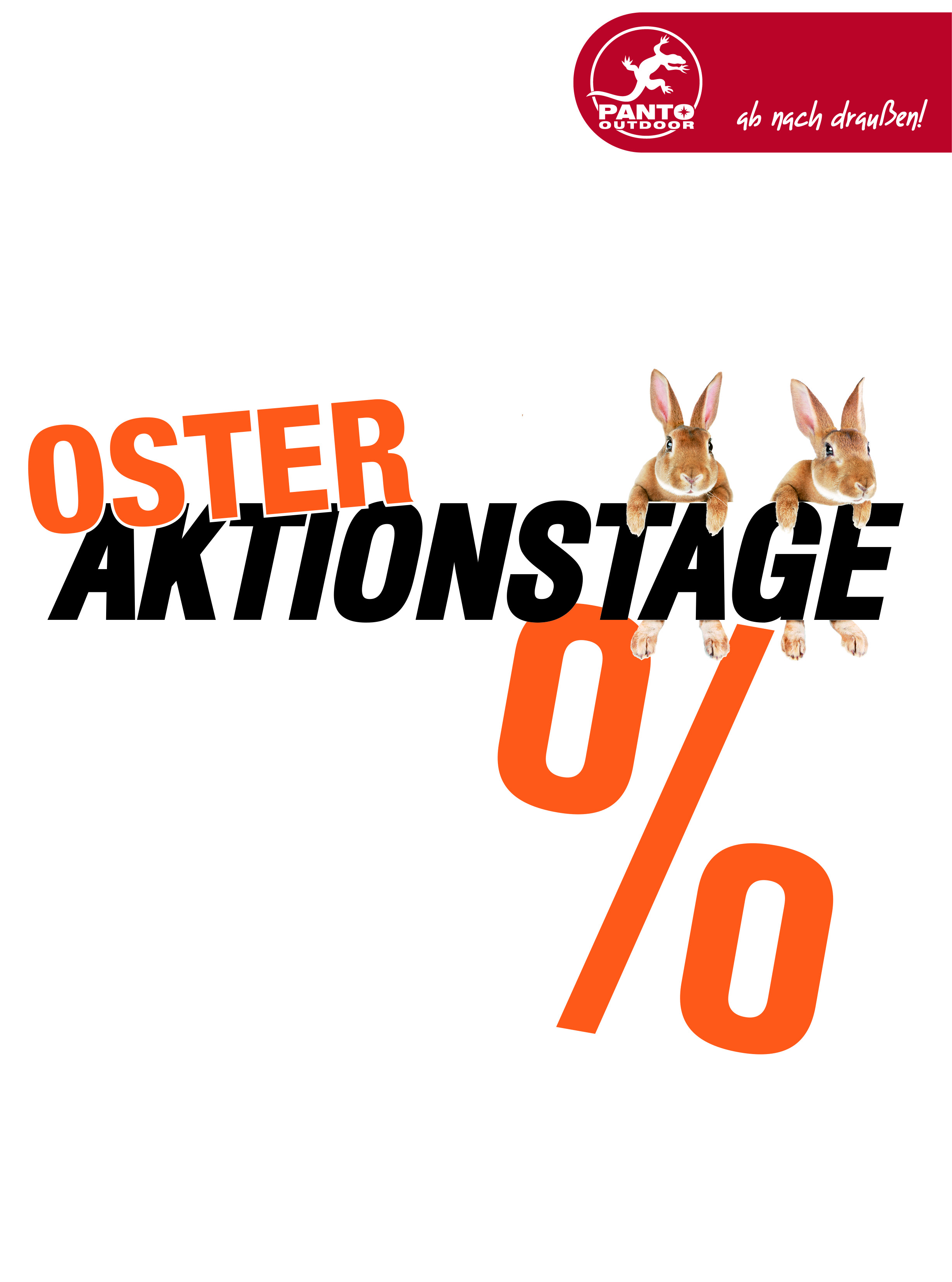 Oster-Aktionstage bei PANTO OUTDOOR